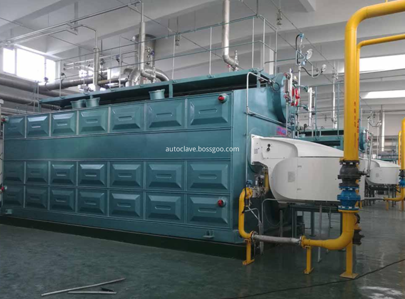 SZS Gas/oil Fired Steam Boiler