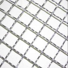 Malla de diamante de abertura cuadrada de malla de alambre de acero inoxidable