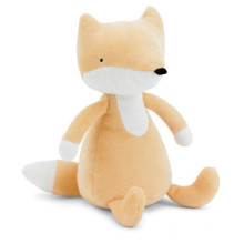 brown cute plush fox stuffed animal