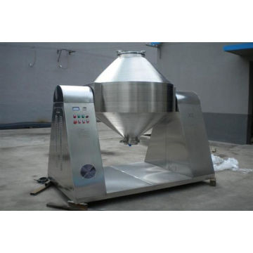 Granules Double Cone Vacuum Drying Machine with GMP Standard