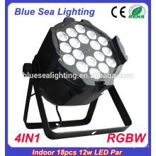 RGBW 4in1 Innenlicht 18pcs 12w führte Par