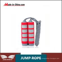 Corda de salto feita sob encomenda pesada da velocidade do cardio