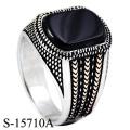 Einzigartiges Modell 925 Sterling Silber Fashion Ring für Mann