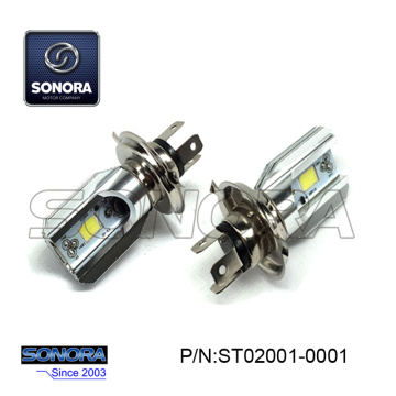 LED HEAD LIGHT BULD 12V - 35 / 35W H4 LED HEAD LIGHT BULD (P / N: ST02001-0001) QUALITÉ SUPÉRIEURE