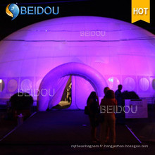 Camping gonflable Pop Up Relief Garden Gazebo Tents Party Giant Inflatable Dome Wedding Tent