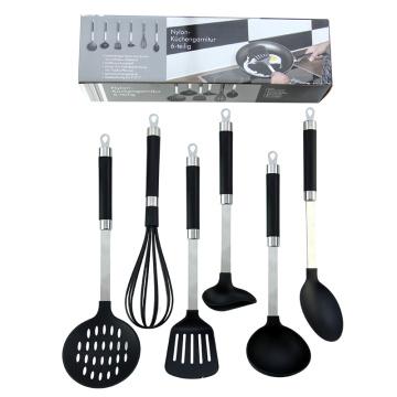 6 pieces food grade nylon kitchen utensils set