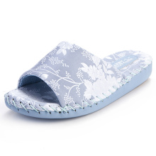 Mulheres Comfort Indoor Chinelos Pansy Room Wear Japanese Factory