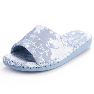 Women Comfort Indoor Slippers Pansy Room Wear Japanese Factory