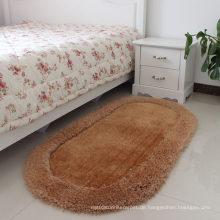 Custom Polyester Seide Fuß Teppich und Matte