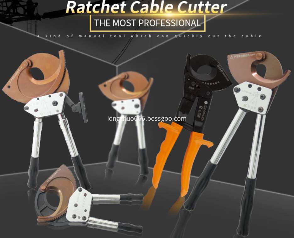 Power and Hand Tools Ratchet Cable Cutters