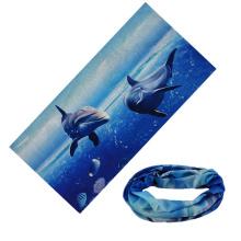 Wholesale custom outdoor fishing neck warmer Multi fashional seamless tubular bandana