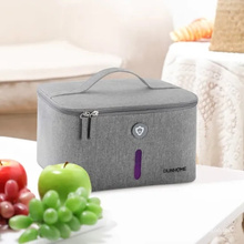 High Quality Women Makeup Bag Small Travel Cosmetic Bag with UVC Germicidal Lamp