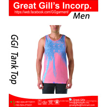 Gym Singlets Mens Tank Tops Stringer Bodybuilding and Fitness Men's GYM Tank top Sports Clothes