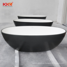 New Trending Artificial Stone Solid Surface Freestanding Bathtub for Adults