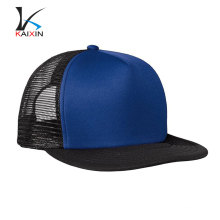 Stylish 5 Panel Black Neon Snapback Gorras de camionero