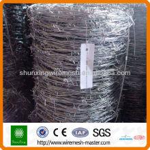 Fabrication massive de fil de fer barbelé