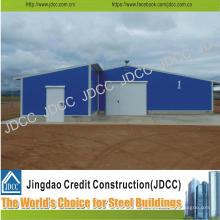 Casa de galinha clara galvanizada da construção de aço