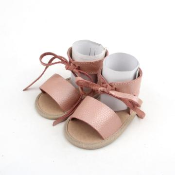Sandal Summer ikatan simpul Bayi Girls Sandals Flat