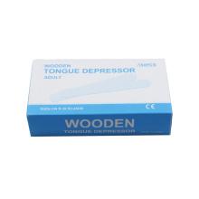 Medical Disposable Wooden Tongue Depressor