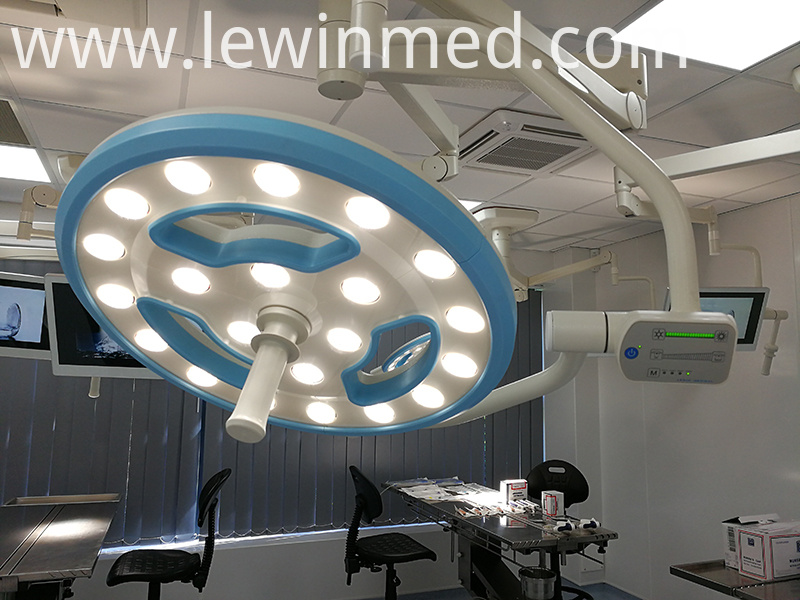 Hollow led shadowless light