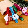Christmas Party Supplies LED Lamp Christmas Clap Ring Flash Cartoon Clap Ring Bracelet