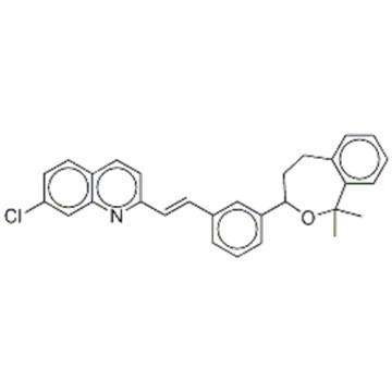 Quinoline,7-chloro-2-[2-[3-(1,3,4,5-tetrahydro-1,1-dimethyl-2-benzoxepin-3-yl)phenyl]ethenyl] CAS 168214-67-3