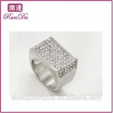 2014 anillos de diamante al por mayor baratos del brillo de la caja de joyería