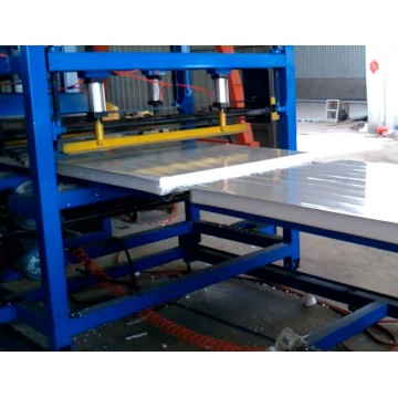 PU Foam Sandwich Panel Membuat Mesin
