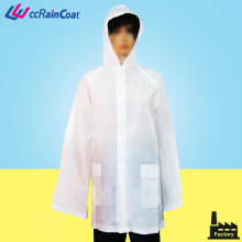EVA biodegradable degradable breathable rain coat jacket nylon drawstring bag packing
