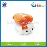 Plush toy shrimp white yellow shrimp animal plush toy