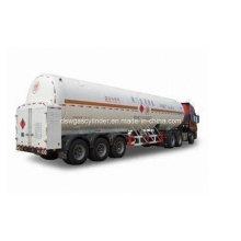 Oxygen Nitrogen Argon Cabochon Dioxide Cryogenic Tank Truck