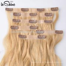 YBY Remy Full Cuticle alta calidad superior mini clips piezas de cabello