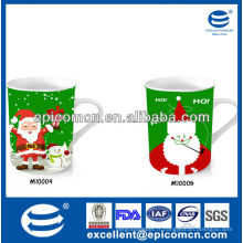 Vente chaude et populaire de cadeau de Noël 12oz en céramique