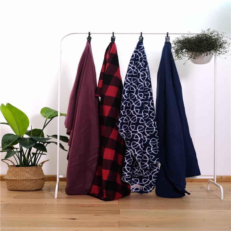 100 Microfiber Fabric Bed Blanket