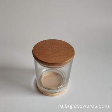 wooden+top+and+wooden+bottom+glass+candle+jar