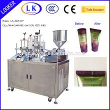 Creme dental e tubo de cosméticos Máquina de selagem ultra-sônica