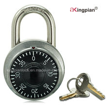 Stainless Combination Padlock for Warehouse Door with Master Key