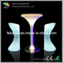 Table de banquet LED (BCR-877T, BCR-811C)