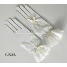 Guantes de novia con encaje sin dedos