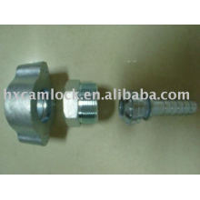 Female spud Ground Joint Couplings