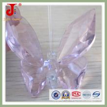 Borboleta cor-de-rosa do cristal (JD-CA-104)
