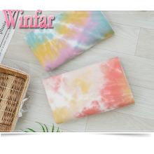 Spandex Brush Трикотажный галстук Dye Fabric Women