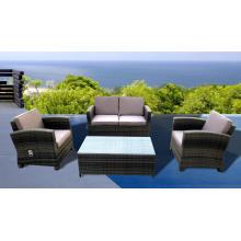 As cadeiras do sofá do Rattan ao ar livre mobiliário função definida