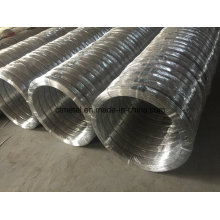 Oval Galvanized Wire 2.2X2.7mm for Farm Fencing