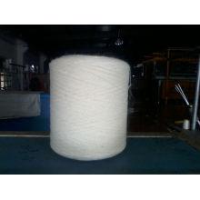 100% 250TEX / 1 NZ fio de lã branco cru para tapete