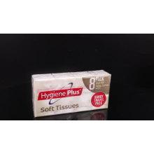 Tissu de poche pour le visage en papier de pâte de bois 3 plis