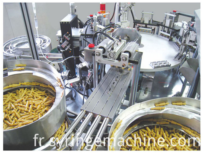 Latex Tube Assembly Machine