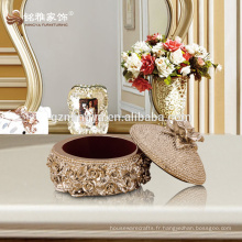 Guangzhou Mingya boîte de bijoux de luxe de haute qualité boîte à bijoux en résine personnalisée