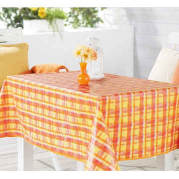 Square Shape PVC Tablecloth Wedding, Home, Party, Hotel Use