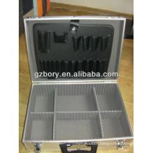 Electricians Lockable Aluminium Flight Case Toolbox Tool Organiser Storage Box